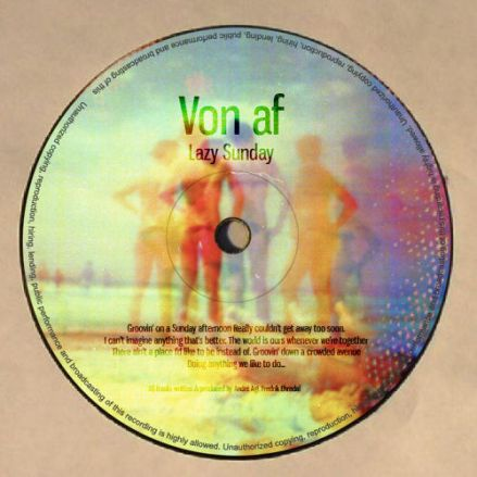 Von Af – Lazy Sunday on The Aftermath Music